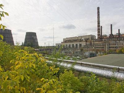 """Выход из строя оборудования на """"Краматорсктеплоэнерго"""" спровоцировал залповый выброс сажи в атмосферу Краматорска."""