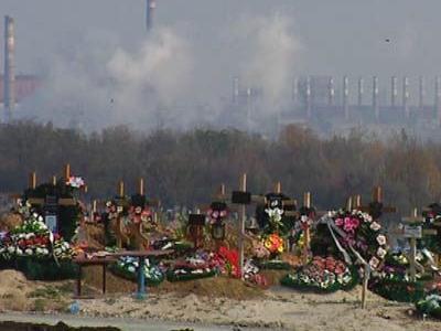 Самое большое кладбище в Европе находится в Мариуполе
