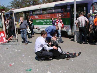 Второй взрыв в Днепропетровске: растет число пострадавших