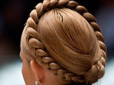 Тимошенко заплела косу и хвалит харьковскую больницу