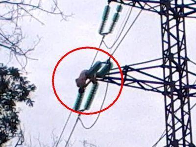 Взорвана опора линии электропередач из Украины в Крым - УВД Херсонской области - Цензор.НЕТ 1002