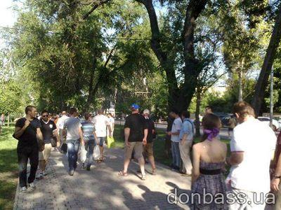 В Донецке с рук продают билеты на сегодняшний матч между сборными Англии и Франции