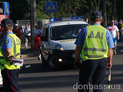 Сегодня в Донецке ограничивают движение транспорта. Список улиц