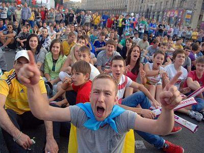 Рекорд: фан-зоны по всей Украине посетили 250 тысяч человек