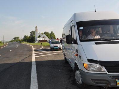 """ГАИ Донецка проверила водителей автобусов на """"морских"""" маршрутах (ФОТО)"""