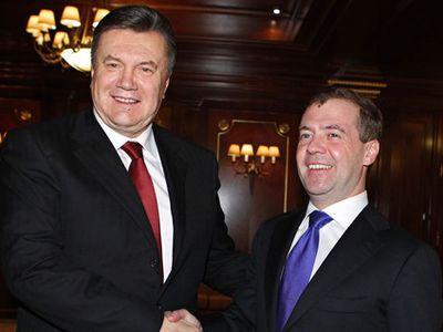 Янукович с Медведевым пообщались о сотрудничестве держав