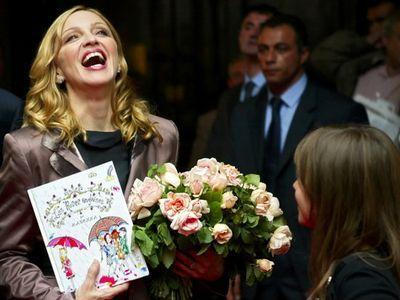 Мадонна затребовала от киявлян букеты специальных роз