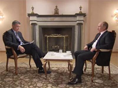Путин дал первое интервью после инаугурации