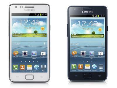 Samsung представила новый смартфон Galaxy S II Plus