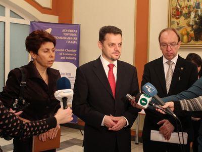 Македония забросила в Донецк бизнес-десант (ФОТО)