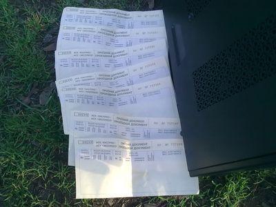 Парень вынес из помещения кассы системный блок и бланки железнодорожных билетов (ФОТО)