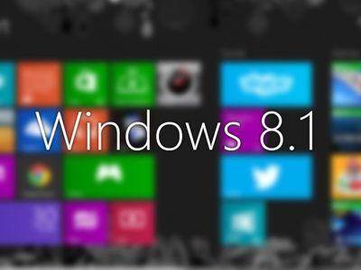"""Windows 8.1 позволит """"защитить"""" личные папки отпечатком пальца"""
