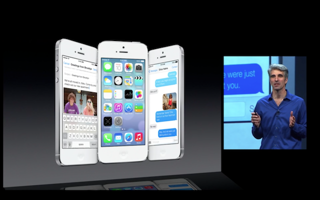 Apple представила новую операционную систему  iOS 7