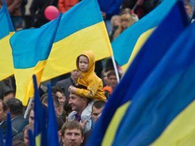 В Киеве отметили годовщину восстановления Украины