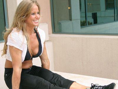 Карина: «Сильно потеть на тренировках - это естественно!».