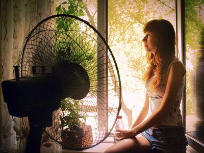 Дончанка Юлия Гончарова убедилась: если перед вентилятором поставить бутылку  с замороженной водой, прохлада будет куда более ощутимой!