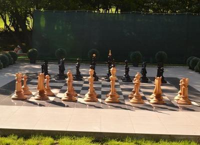 В Донецке можно сыграть в гигантские шахматы
