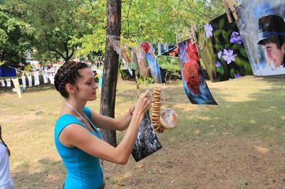 Ирина Жданова пополняет выставку новыми работами