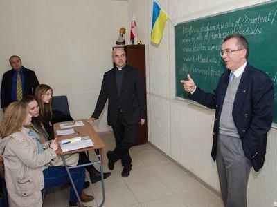 * Генконсул Польши Якуб Волонсевич с живым интересом общался со студентами ДонНАСА, которые изучают польский язык: «Я хочу, чтобы вы верили в свой успех!»