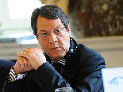 Нынешний президент Кипра Никос Анастасиадис.