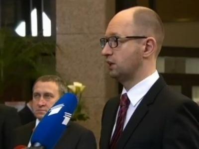 """Яценюк: """"Россия мстит Украине, повышая цену на газ"""" (ВИДЕО)"""