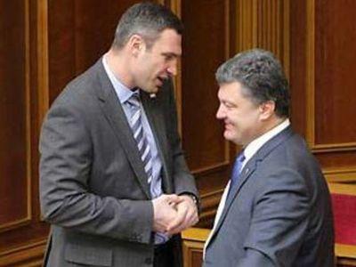 Кличко + Порошенко: тандем заявил, что Тимошенко - им не конкурент (ВИДЕО)