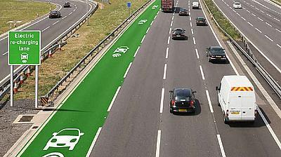 В Великобритании испытают шоссейную систему беспроводной зарядки электромобилей