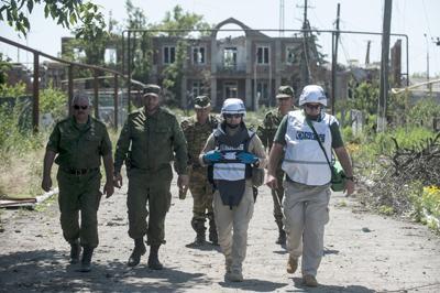 """Как работают наблюдатели ОБСЕ: признания """"Донбассу"""""""
