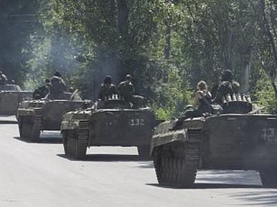 Вчера ночью в Украину со стороны РФ зашли три колонны с военной техникой