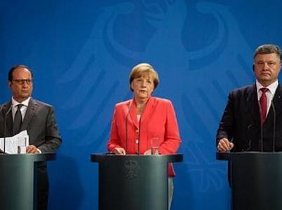 Полный текст заявления Порошенко после встречи  в Берлине