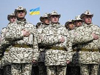 Воины АТО поздравили украинцев с праздником (ВИДЕО)
