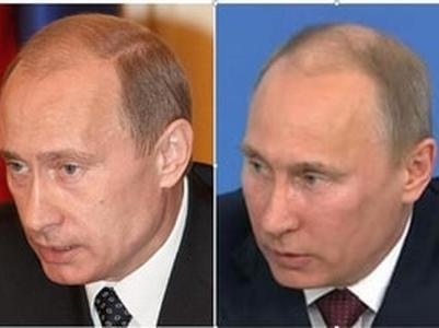 """Сети обсуждают двойников Путина - """"Говорун"""", """"Удмурт"""", """"Синяк""""..."""