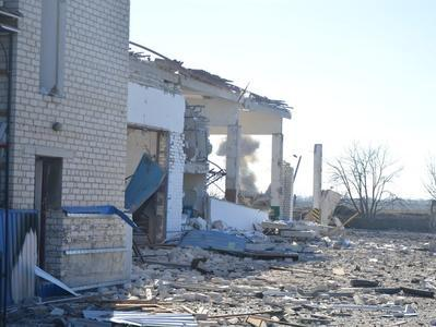 Пожар в Сватово полностью потушили, в городе восстановлено водоснабжение