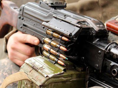 Кто-то сегодня днем мощно обстрелял боевиков