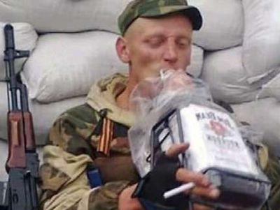 """В рядах """"защитников"""" """"донбасских республик"""" процветают пьянострелы и дезертирство"""