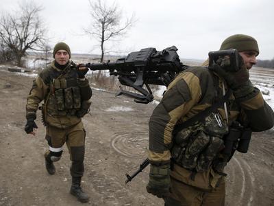 Две группы снайперов расстреливали позиции сил АТО в районе Опытного