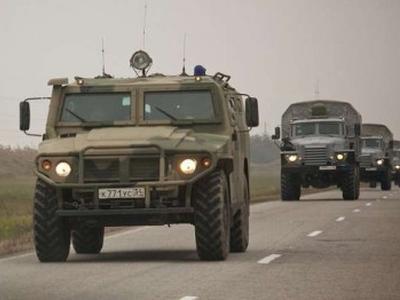 Очередная автомобильная колонна с боеприпасами  из России пересекла границу Украины