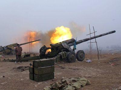 В зоне АТО ударила 122-мм артиллерия