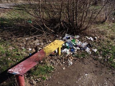Как выглядит сегодня территория в центре Донецка, которая должна была стать парком (ФОТО)