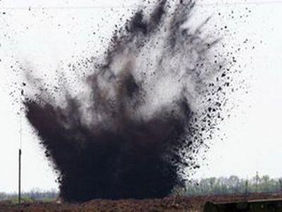 Донбасские боевики ударили вечером по захваченной ими территории из тяжелой артиллерии