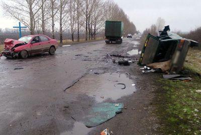 В Донецкой области разбились пять человек