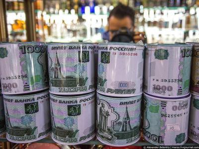 В России продают шоколадные рубли (ФОТО)