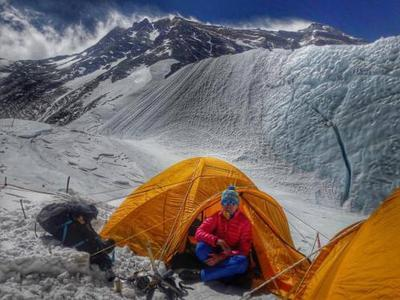 Украинка покорила Эверест (ФОТО)