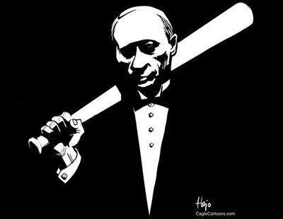 Путина назвали микробом и утилизатором, принуждающим к жизни
