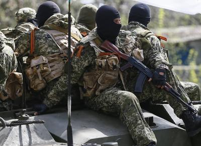 Террористы мощно ударили по донецкому направлению из БМП, минометов и зенитки