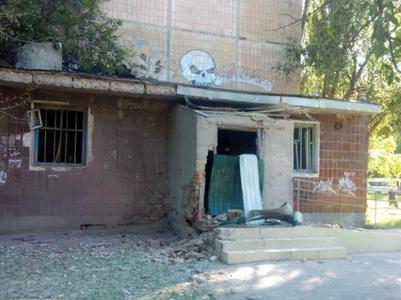 Боевики обстреляли детскую больницу Донецка - штаб АТО привел доказательства (ФОТО)