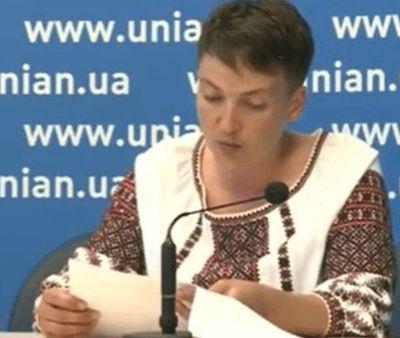 Об украинских пленниках в ЛДНР, санкциях и Савченко