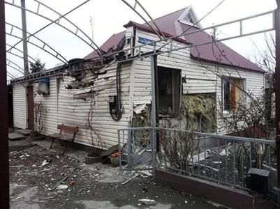 ДНРовцы обвинили ВСУ в повреждении жилых домов в Горловке, Ясиноватой и Донецке