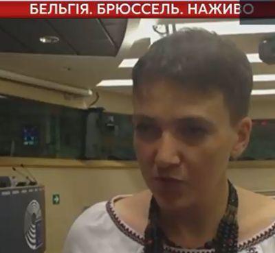 Савченко сообщила, что Эстония поможет информационно накрыть оккупированный Донбасс