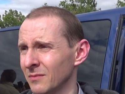 Бывший сотрудник СБУ, предатель родины Евгений Косяк.